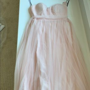 Jenny Yoo collection blush gown. Size 6.